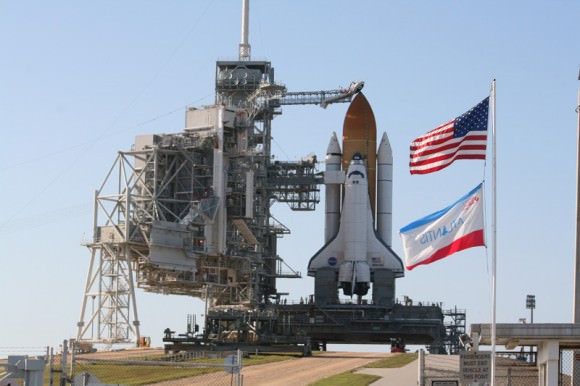 space shuttle atlantis blasted off from ksc on how many occasions - photo #6