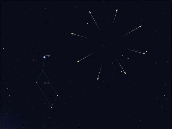 Lyrid Meteor Shower, Lyrids, Lyrid, Meteor Shower, Meteors