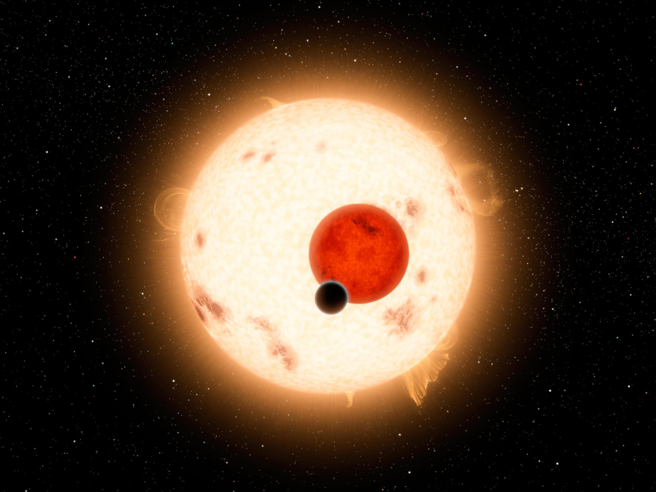 Artist's rendering of Kepler-16b Image Credit: NASA/JPL-Caltech/R. Hurt