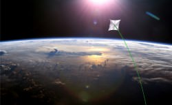 The Solar Sail demonstration mission.  Credit: NASA