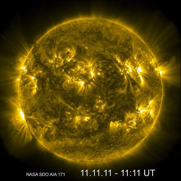 The Sun captured by NASA's Solar Dynamics Observatory Spacecraft.