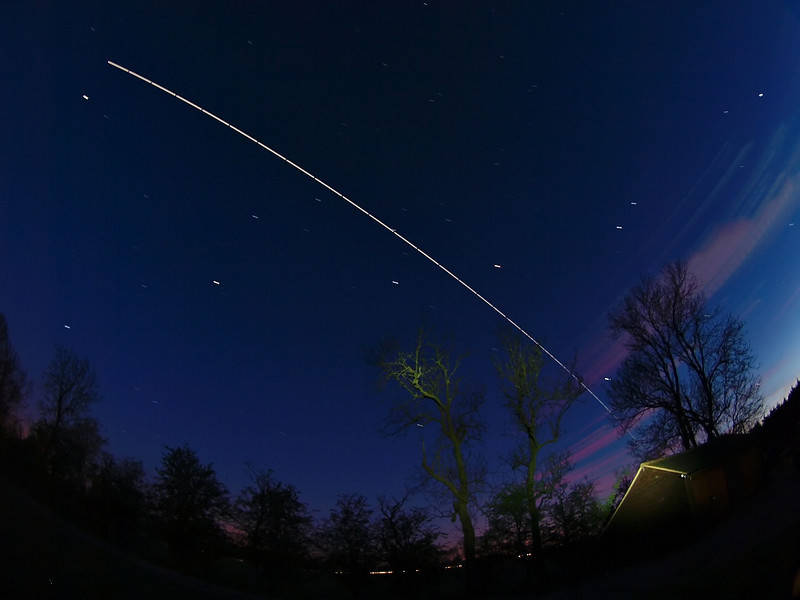 what does the space station look like from earth - photo #11