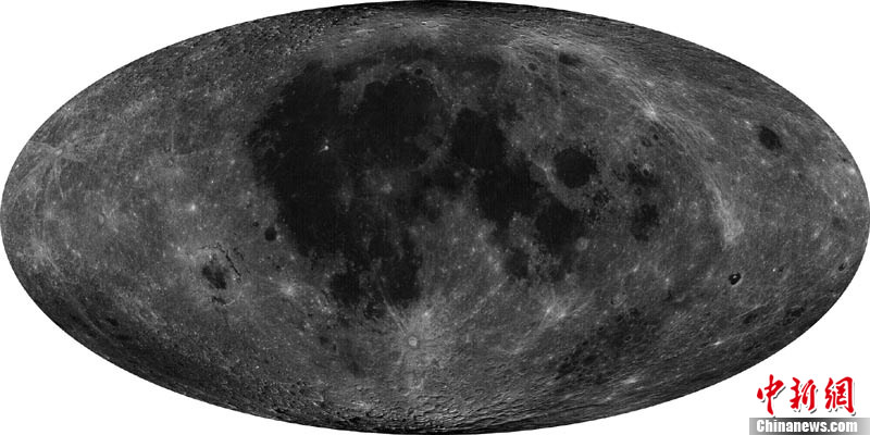 China Publishes High Resolution Full Moon map from Chang'e-2 Lunar Orbiter.    Chinese scientists assembled a full moon map using images captured by the Chang'e-2 spacecraft with an an unprecedented resolution of 7-meters. Credit: China Space Program