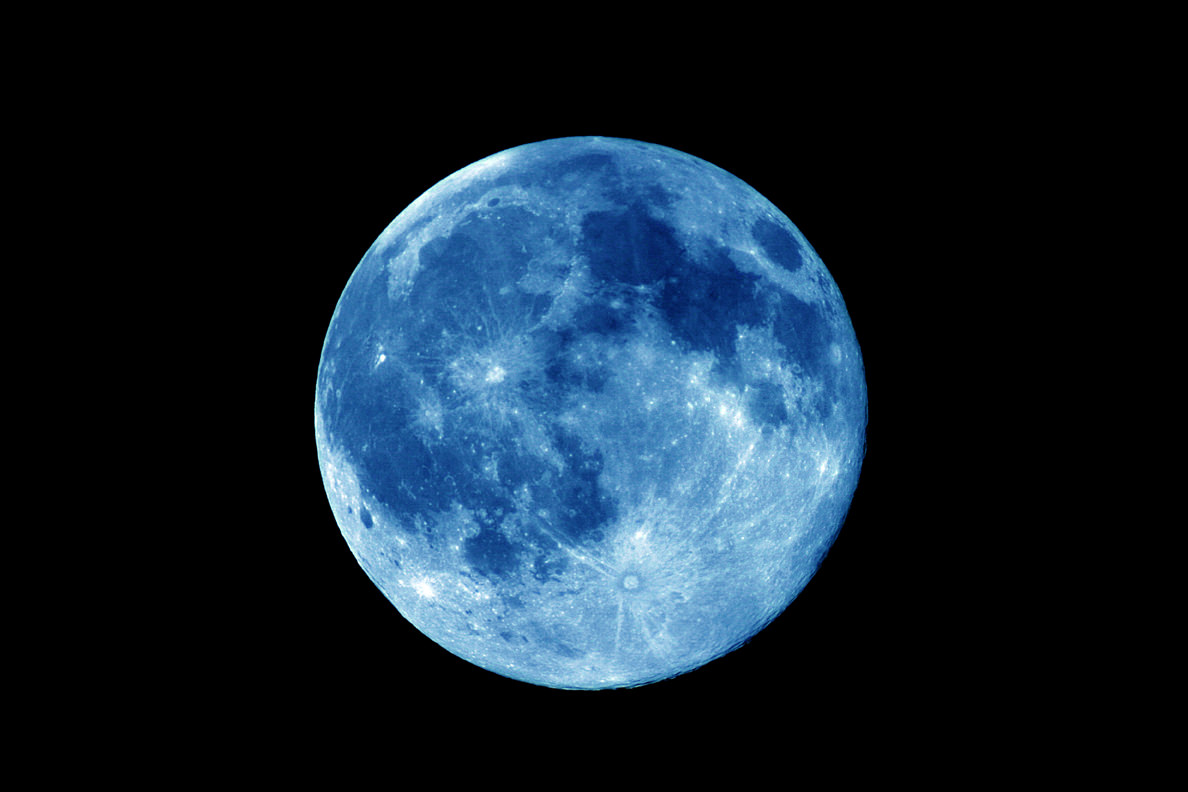 A Blue Moon. Credit: