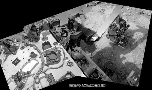 Curiosity Sol 129a turret_Ken Kremer
