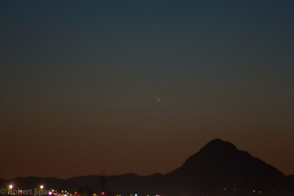 Comet Pan-STARRS as imaged by Robert Sparks (@HalfAstro) on the night of March 10th from Tucson, Arizona. All Rights Reserved, part of the Universe Today photo gallery.