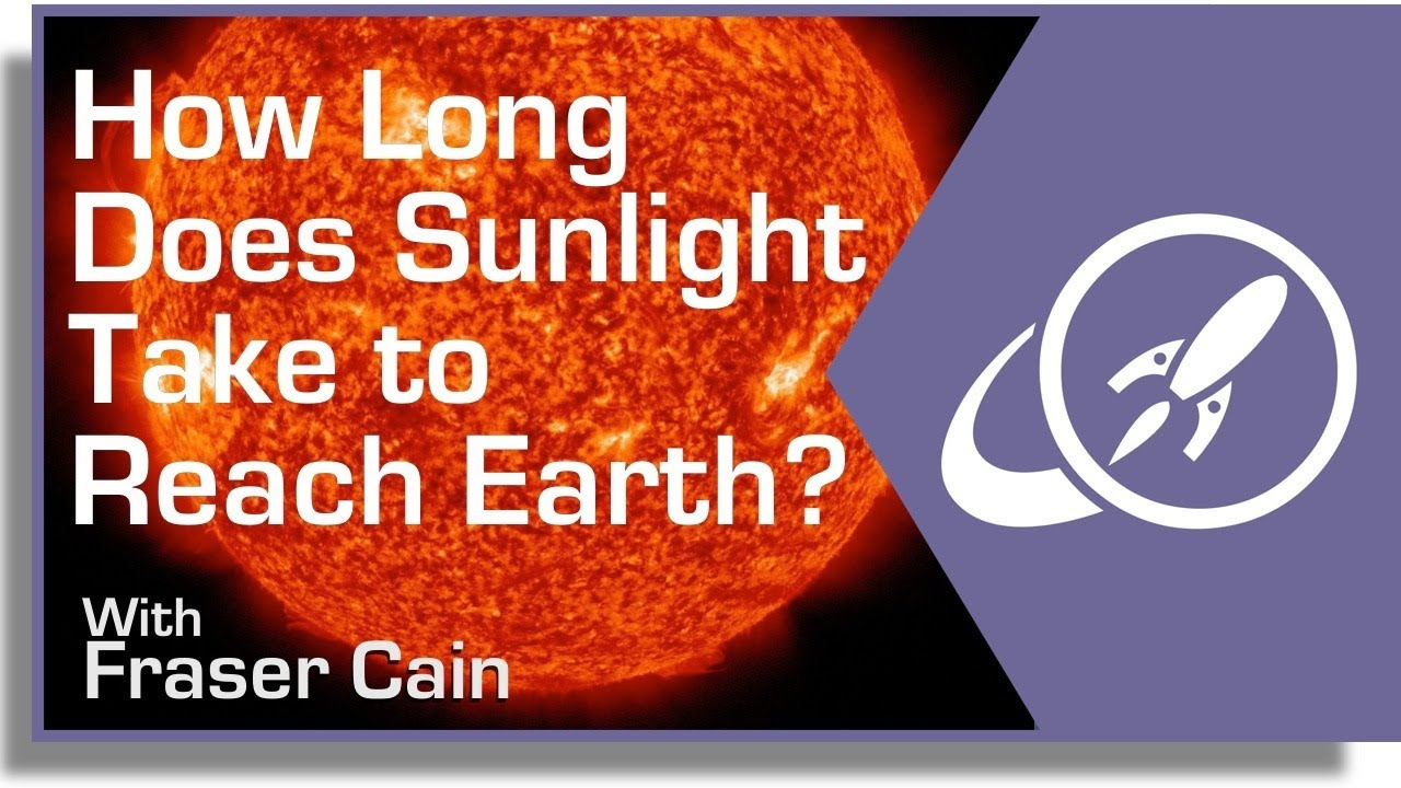 How Long Does it Take Sunlight to Reach Earth?
