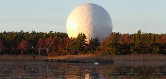Onsala Space Observatory, the Swedish National Facility for Radio Astronomy. Via Chalmers University of Technology.
