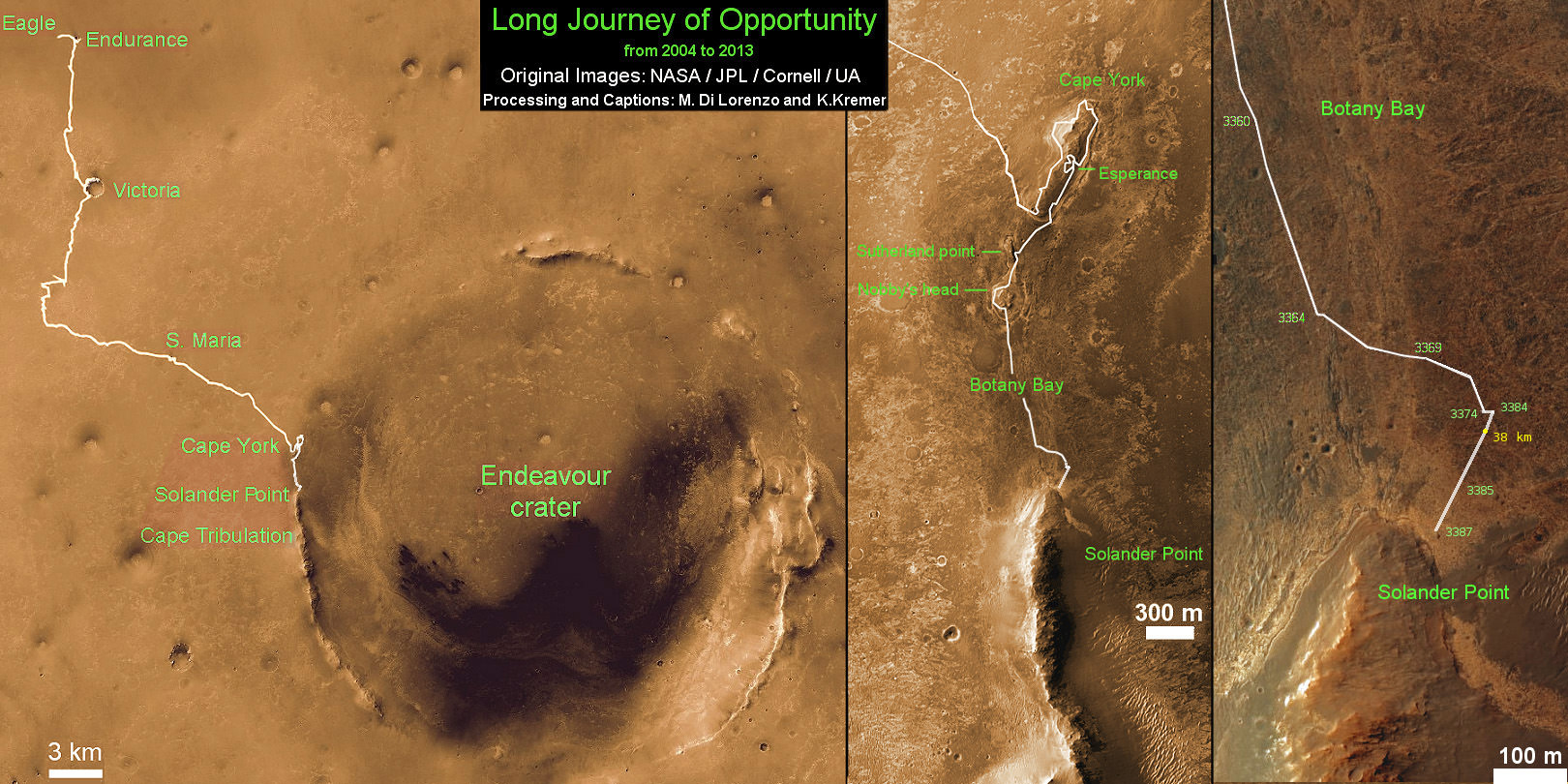 mars rover opportunity current location - photo #7