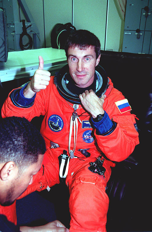 Cosmonaut Sergei Krikalev Time Travel
