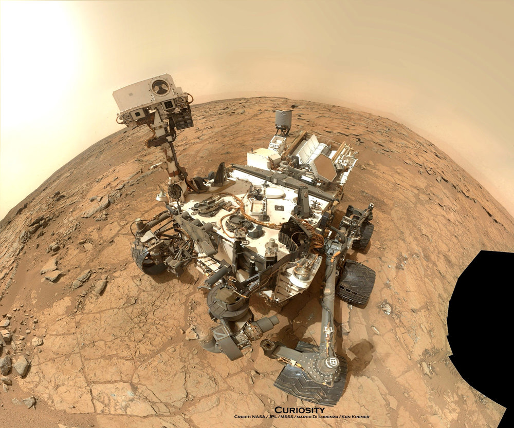 Curiosity Discovers Ancient Mars Lake Could Support Life