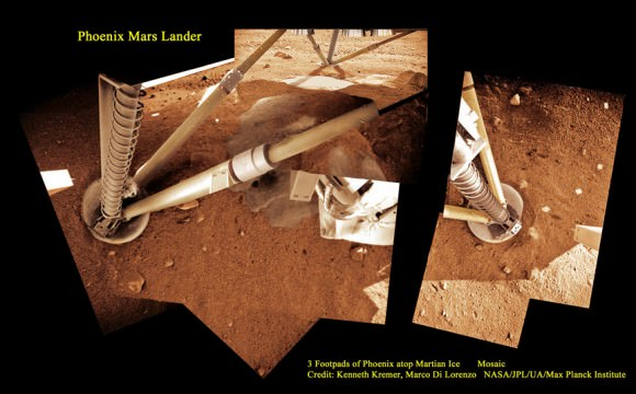 the martian ice and water analysis mission The loss of the martian atmosphere over its lifetime  although the polar caps contain frozen water and carbon dioxide (dry ice)  the mission principal.