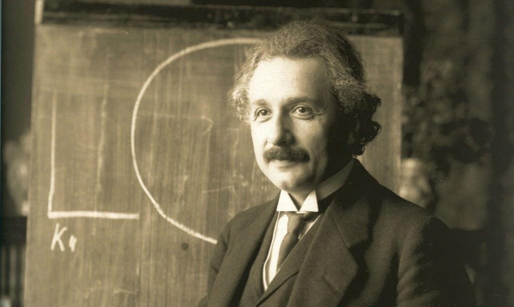 Einstein Lecturing