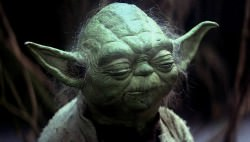 Yoda meditates about moons. Via Blastr.com