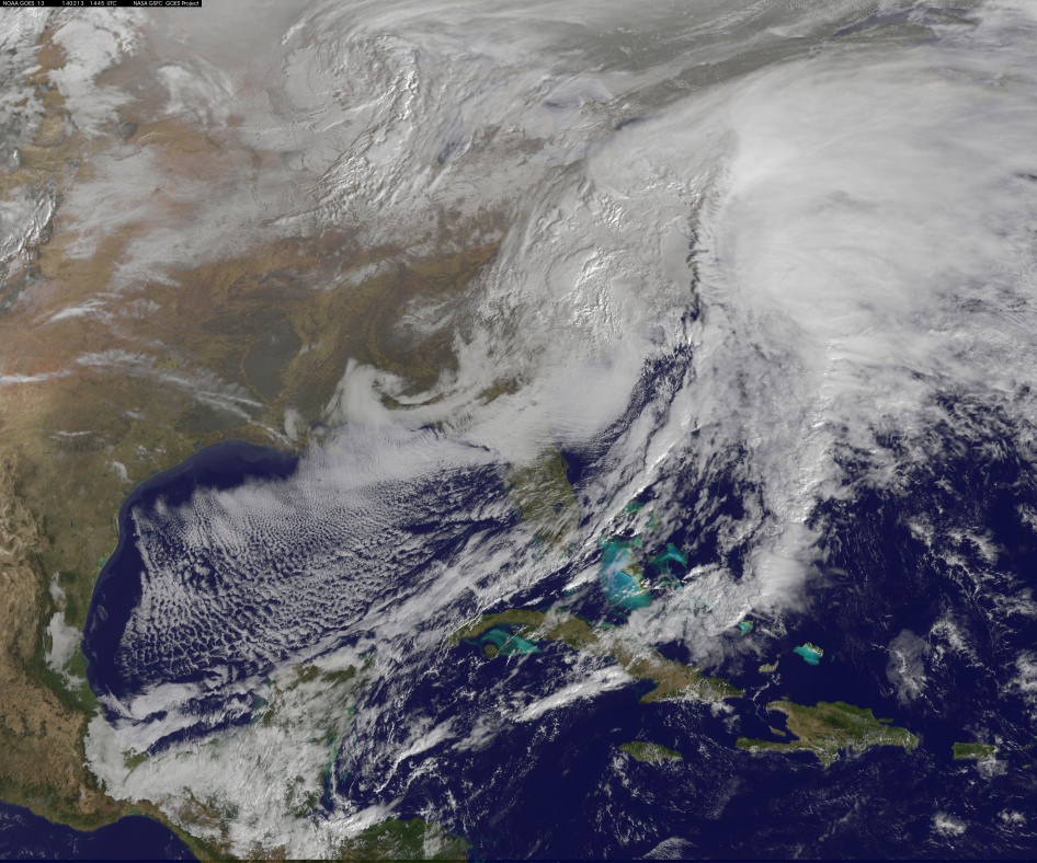 Winter Storm: Deadly Monster Winter Storm Batters US Eastern Seaboard