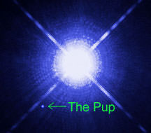 Sirius is orbited by an Earth-sized, superdense white dwarf nicknamed the