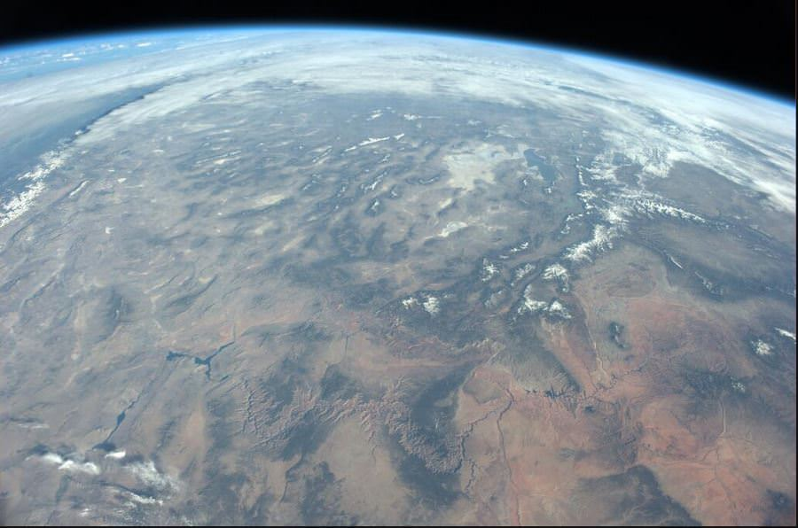 Image of the Grand Canyon from the International Space Station on March 26, 2014. Credit: NASA/JAXA Koichi Wakata.