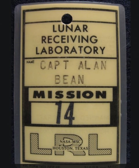 Joe Lennox's collection includes a vast set of space-related items, including some that he says were used by astronauts. Source: Joe Lennox