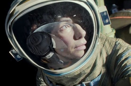 Sandra Bullock in a still from the movie 'Gravity.' Credit: Regency Enterprises/Warner Bros. Entertainment