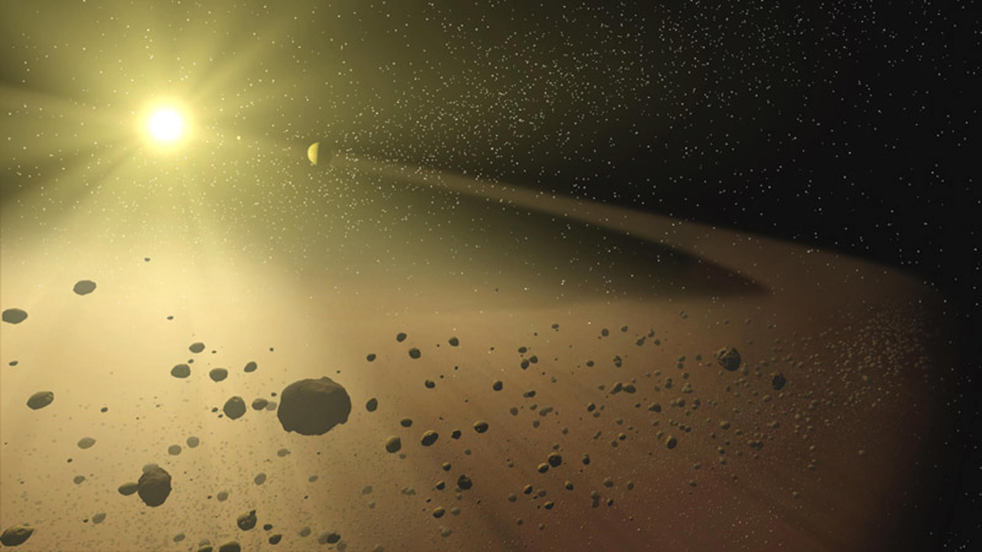 Why the Asteroid Belt Doesn't Threaten Spacecraft ...