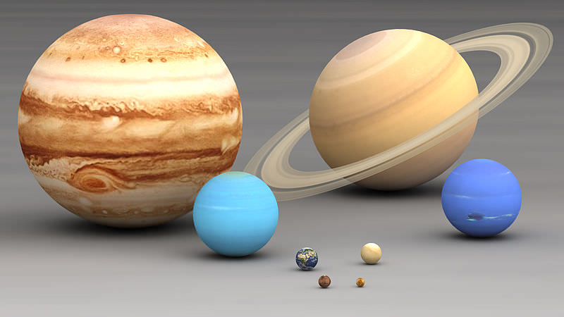 The Planets in Our Solar System in Order of Size - Universe Today