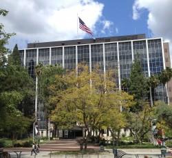 The main building at Jet Propulsion Laboratory in Pasadena (J. Major)