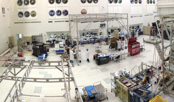 Where space explorers are born: JPL's Spacecraft Assembly Facility (J. Major)