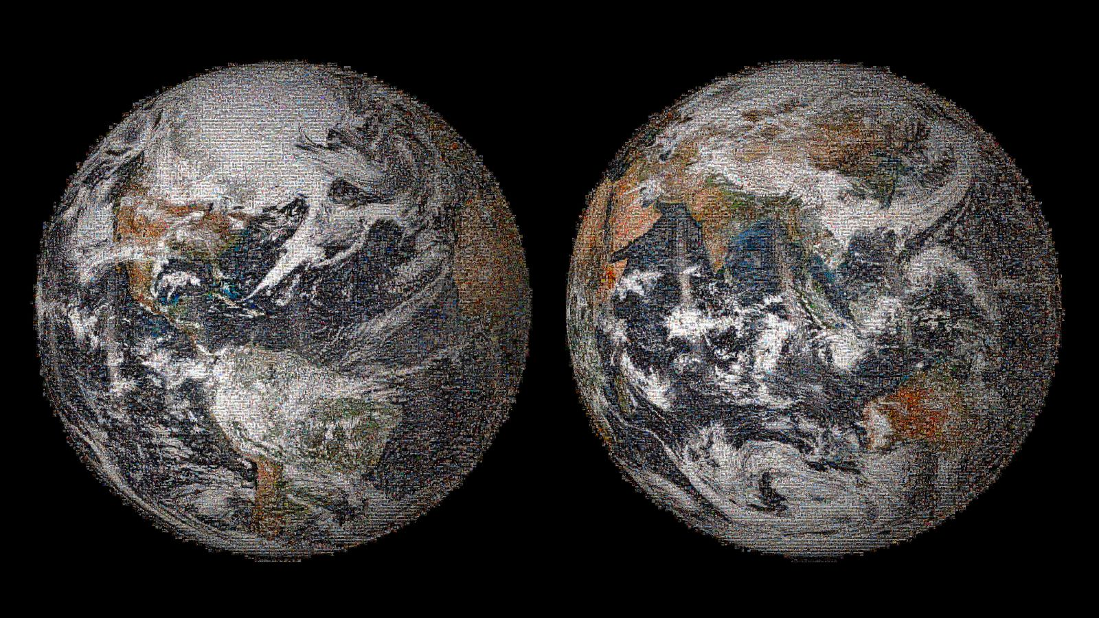 Selfies from Around the World Combine to Make a Portrait of Earth