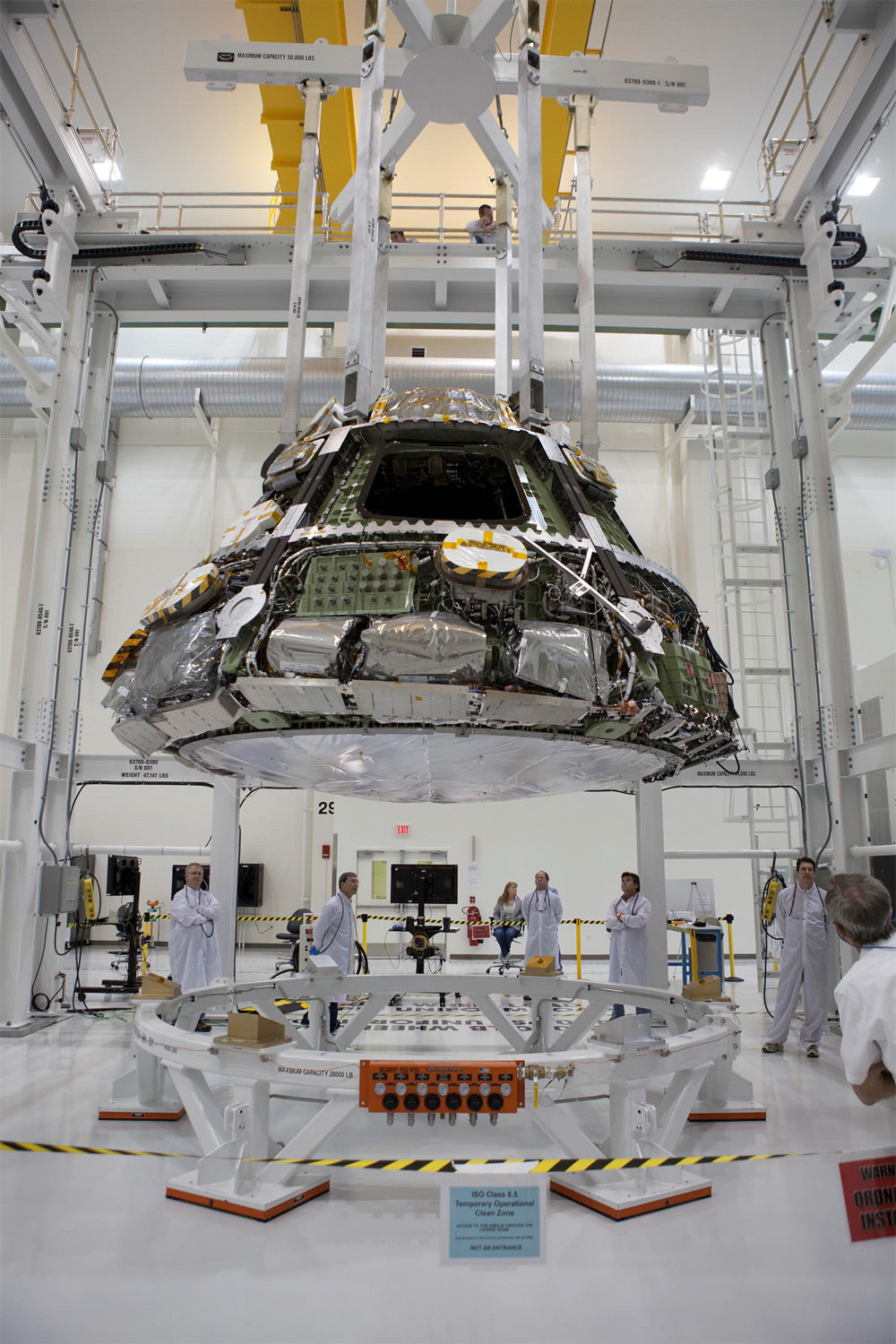 World's Largest Heat Shield Attached to NASA's Orion Crew Capsule for Crucial Fall 2014 Test Flight