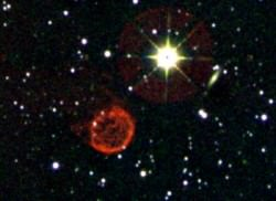 Caption: This image shows a field that contains a newly discovered photogenic planetary nebulae. Internally dubbed by the research team as the