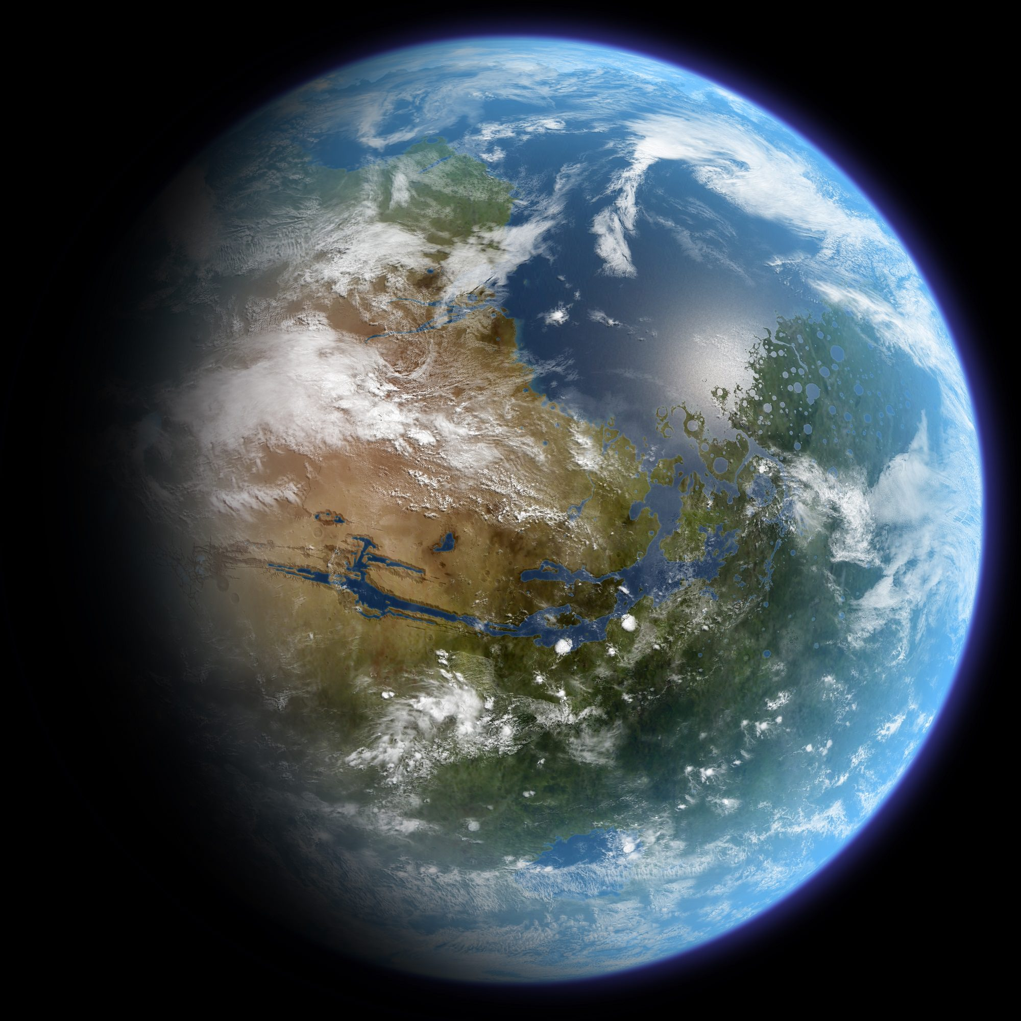 how do we terraform mars universe today