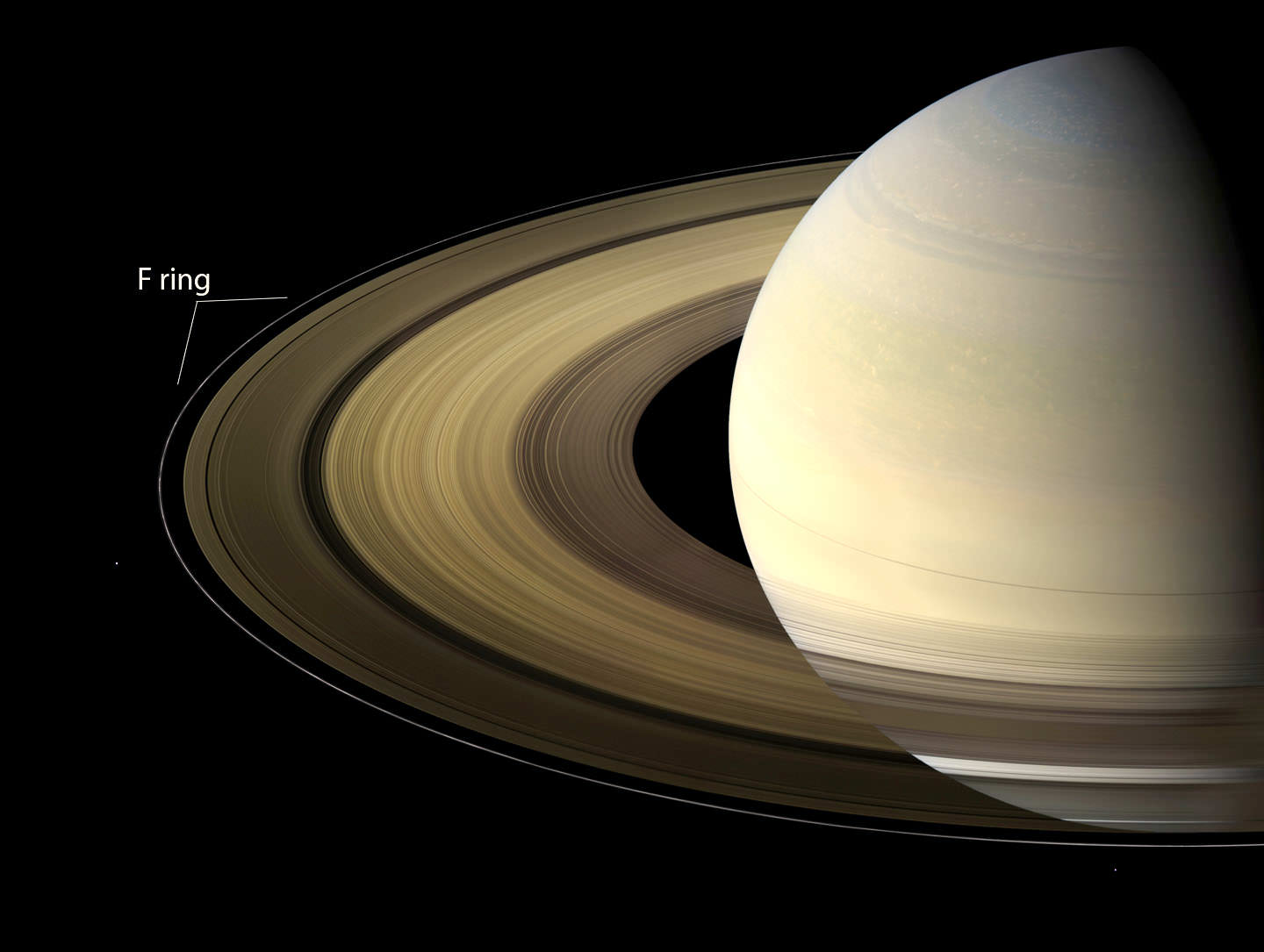 What Color Is Saturn S Rings