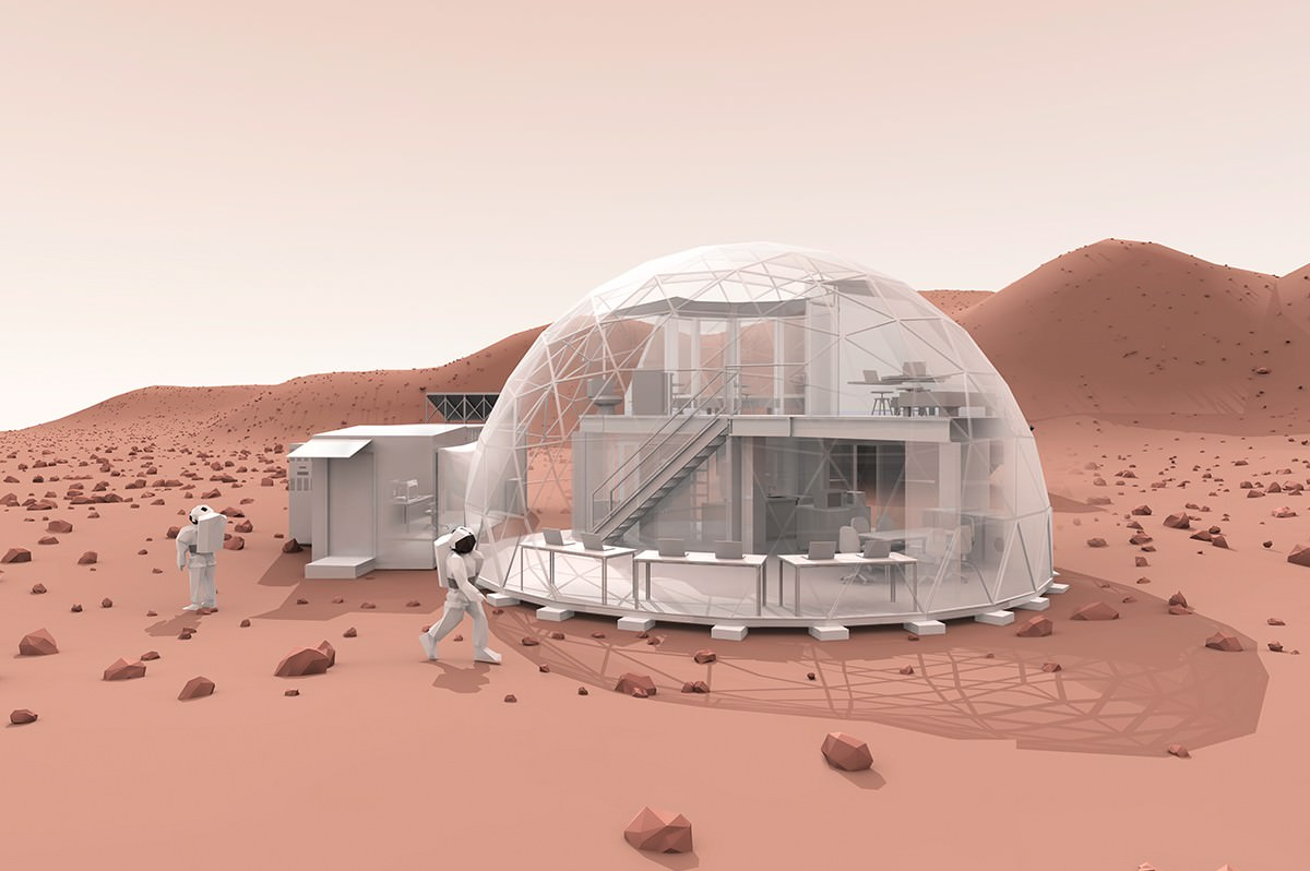 mission mars one pods - photo #15