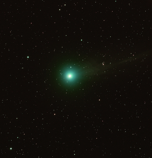 Comet Q2 Lovejoy imaged from Siding Spring Observatory in New South Wales, Australia on December 18th. Credit and copyright: Roger Hutchinson.