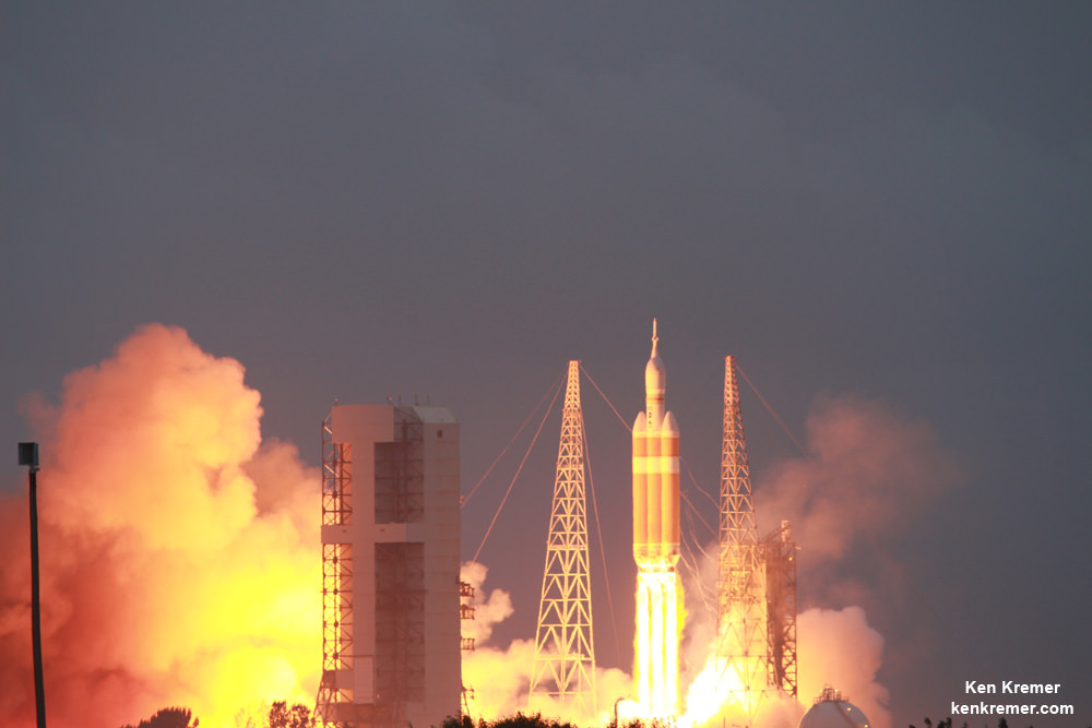 First Manned Flight of NASA's Orion Deep Space Capsule ...