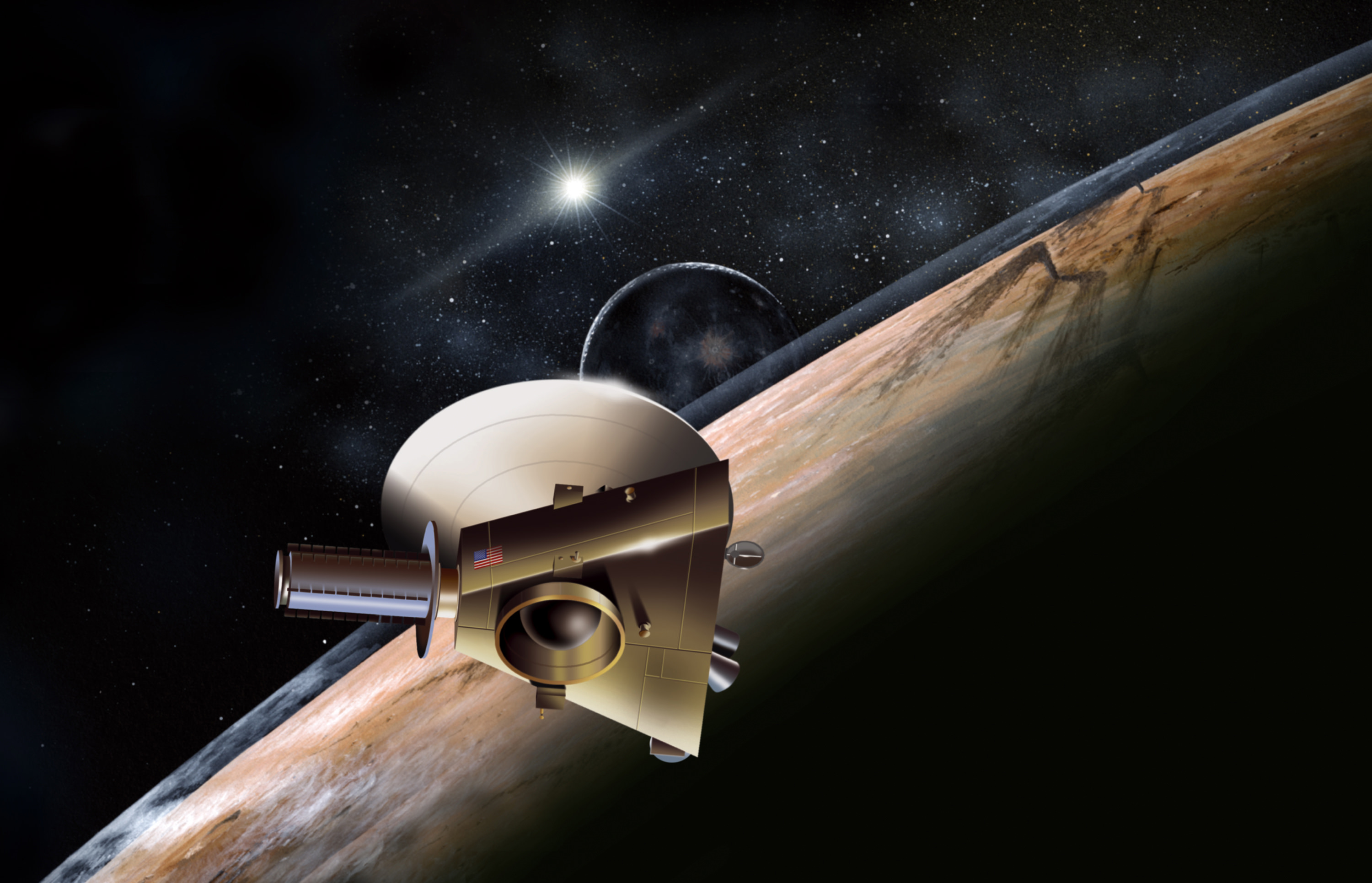 What Does It Take To Get Into New >> How Long Does It Take To Get To Pluto Universe Today