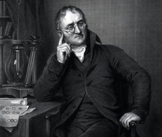 john dalton the first benefactor of the atomic theory John dalton's periodic tables in 1803, the english school teacher and part-time scientist, john dalton published his first list of elements when he printed his atomic theory and his early gas law work.