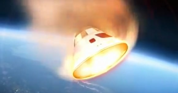 The remaining core of the High Altitude Venus Operational Concept (HAVOC), a far-out mission being developed by NASA, in this artist's concept. Credit: NASA Langley Research Center/YouTube (screenshot)