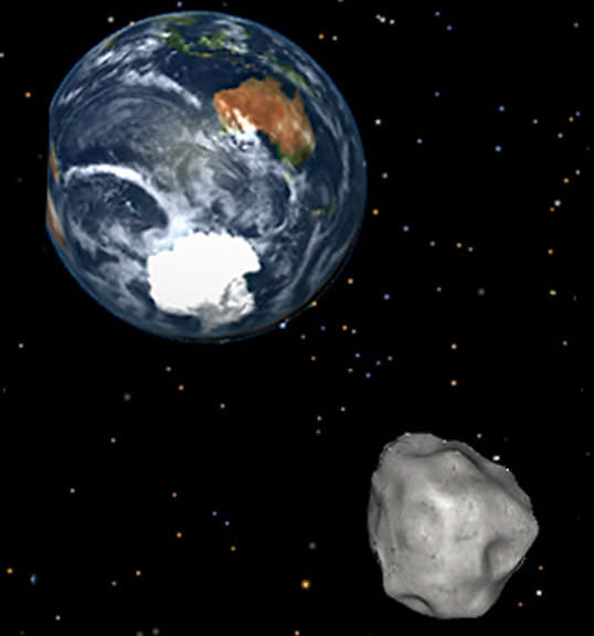 Close Encounter of the Asteroid Kind - 2015 HD1 Skims By ...