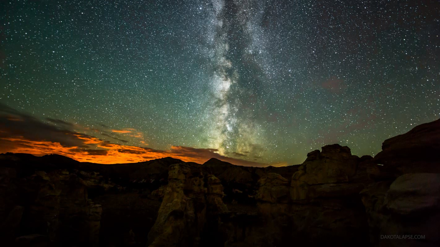 Wyoming Milky Way set. Credit and copyright: Randy Halverson.