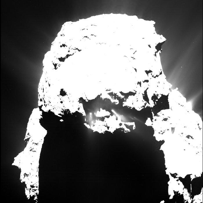 OSIRIS image of 67P/C-G from April 25, 2015