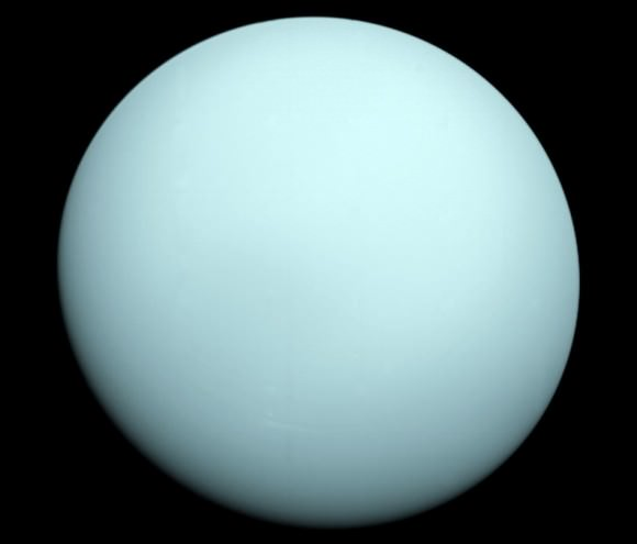 Uranus as seen by NASA's Voyager 2. Credit: NASA/JPL