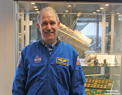 NASA Science chief and astronaut John Grunsfeld discusses James Webb Space Telescope project at NASA Goddard Space Flight Center in Maryland.  Credit: Ken Kremer/kenkremer.com