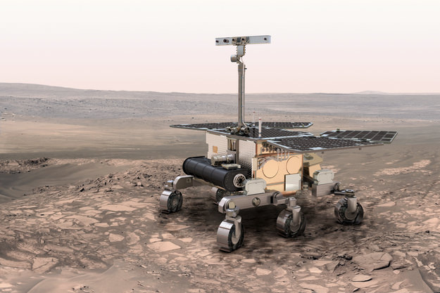 ExoMars 2018 Rover Postponed to 2020 Launch - Universe Today