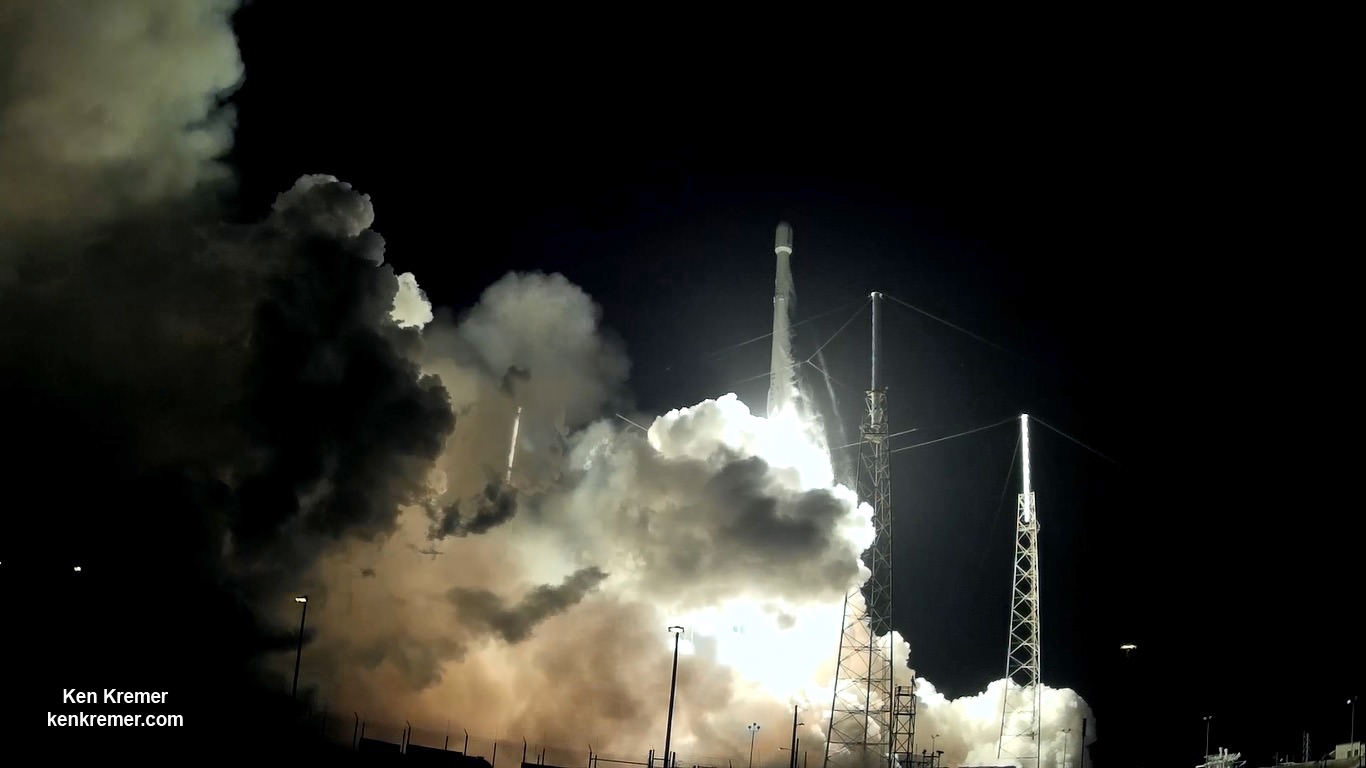 SpaceX Falcon 9 successfully launched from Cape Canaveral