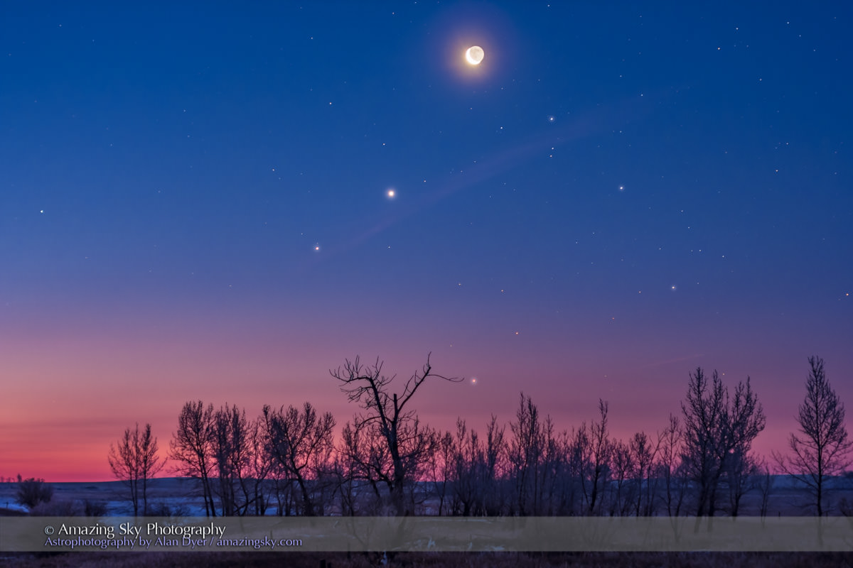 And Mercury Makes Five: See All Naked Eye Planets in the ...