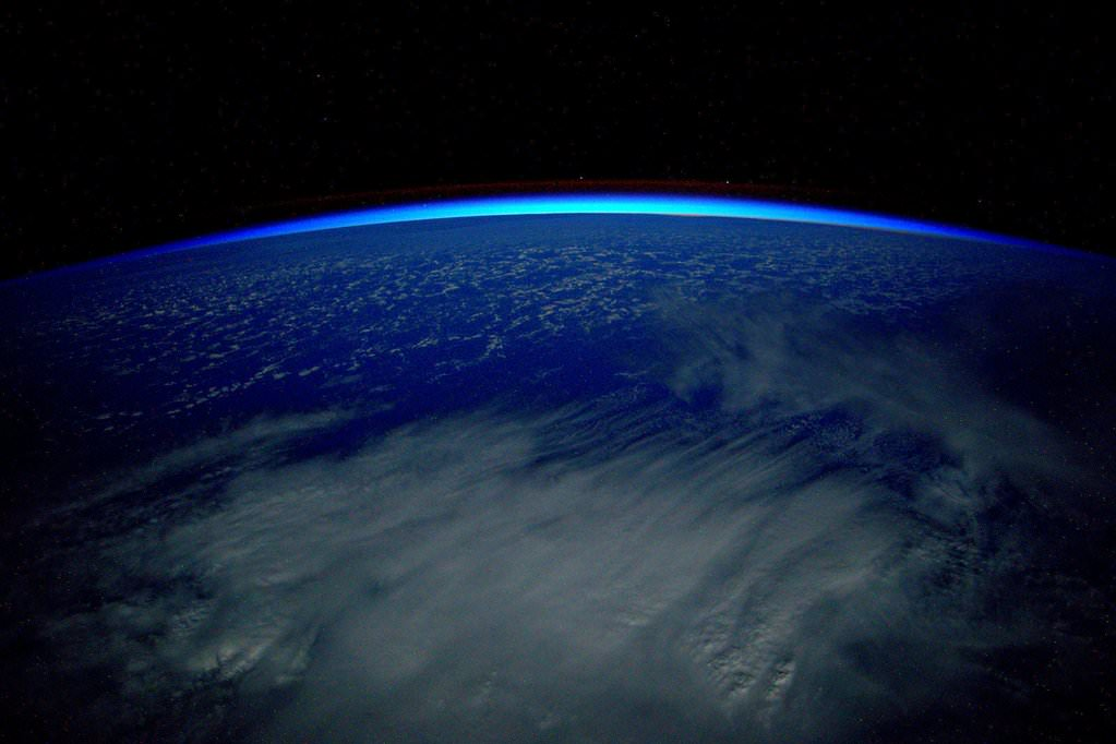 Day 280. First day of 2016, the year I return to #Earth. #GoodNight from @space_station! #YearInSpace.  Credit: NASA/Scott Kelly/@StationCDRKelly