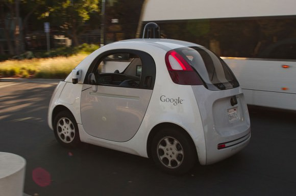 A Google driverless car: Looks harmless, doesn't it? Image: Michael Shick http://creativecommons.org/licenses/by-sa/4.0
