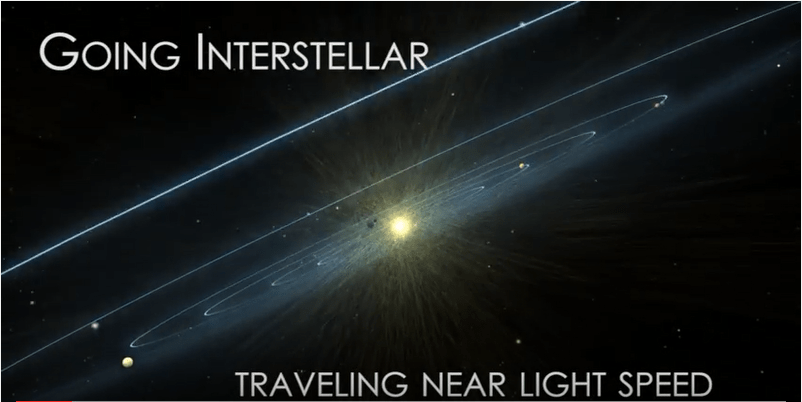 Interstellar travel will require near-light-speed to be feasible. Image: NASA