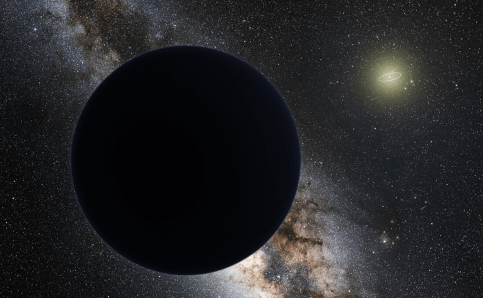 Artist's impression of Planet Nine. Credit: ESO/Tomruen/nagualdesign